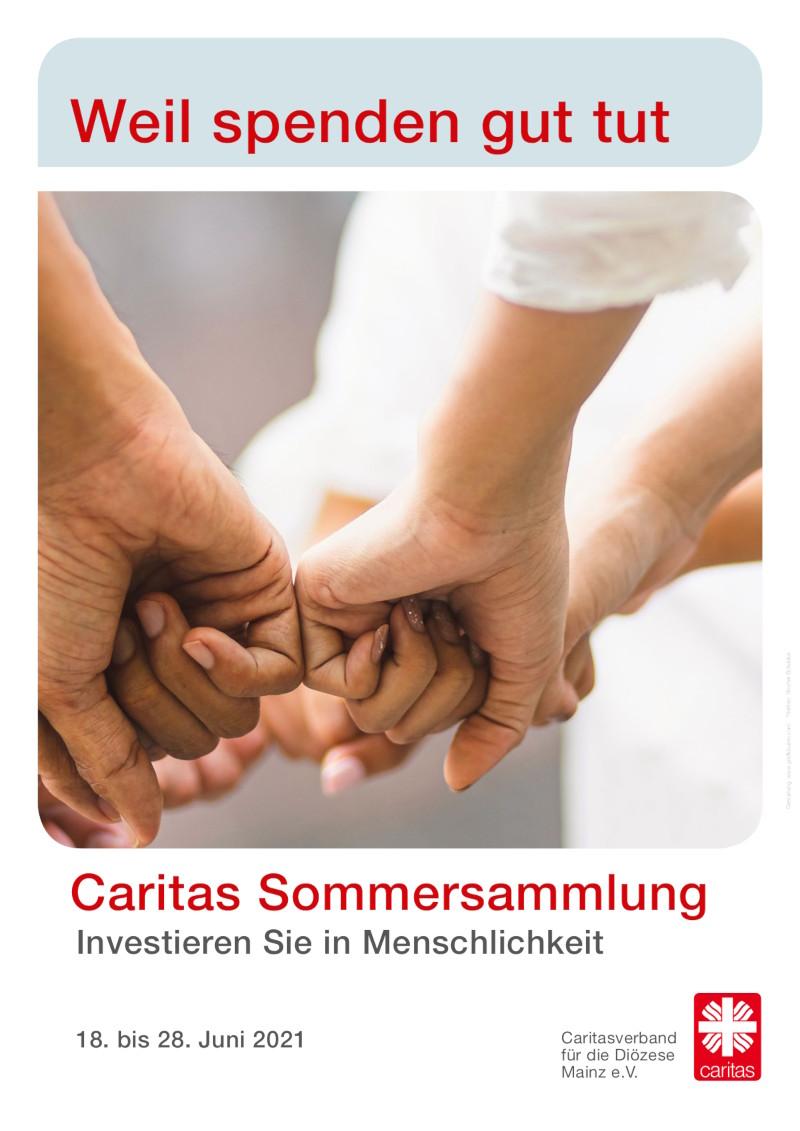Plakat Sommersammlung